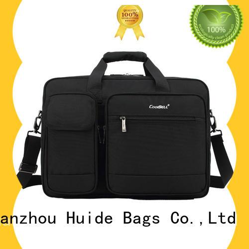 Huide practical men's professional briefcase wholesale price for men