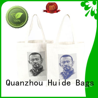 Huide customized textile shopping bags parameter for trolley