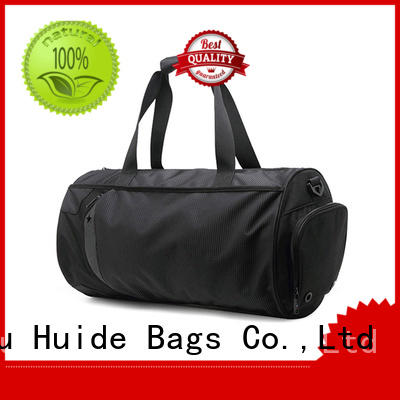 Huide fashionable best quality gym bags alternatives for girls
