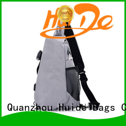 Huide cross chest bag pictures for man