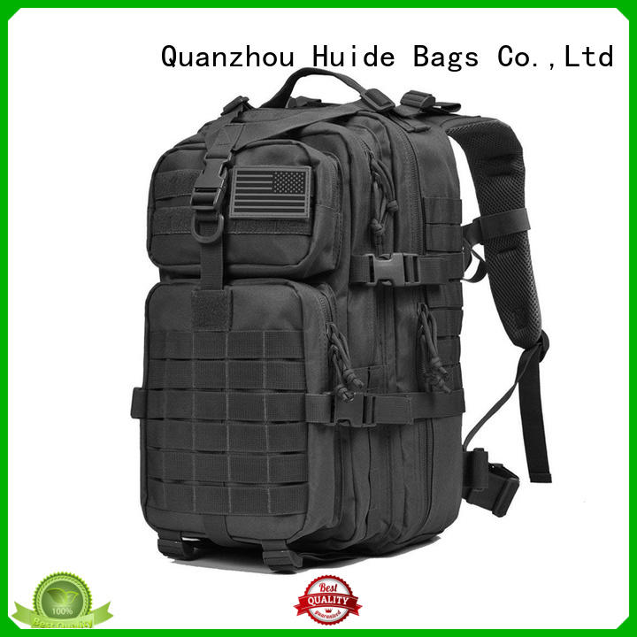 Huide durable military backpack quotation for hiking