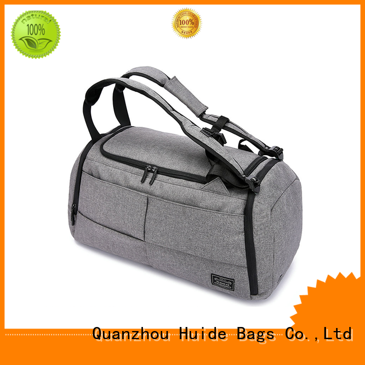 Huide professional duffel bag promotion price for work clothes