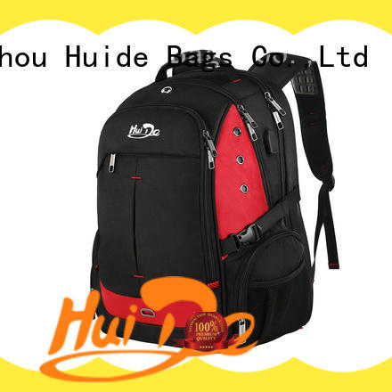 Huide best women's business travel backpack with luggage strap for travel