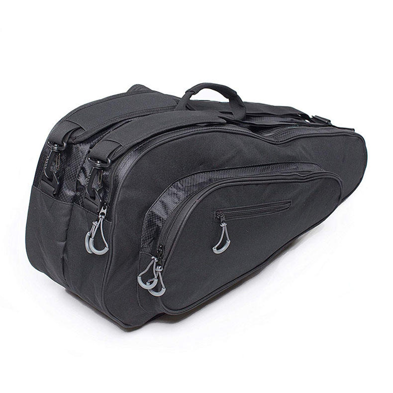 Tennis Badminton Racket Bag Fashion Practical Professional Durable Black