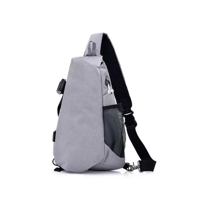 plush picnic backpack & chest strap bag