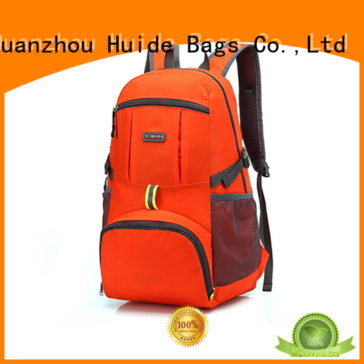 canvas military style backpack & foldable canvas bag