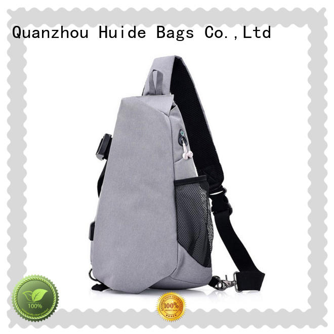 Huide quality cross chest bag quotation for woman
