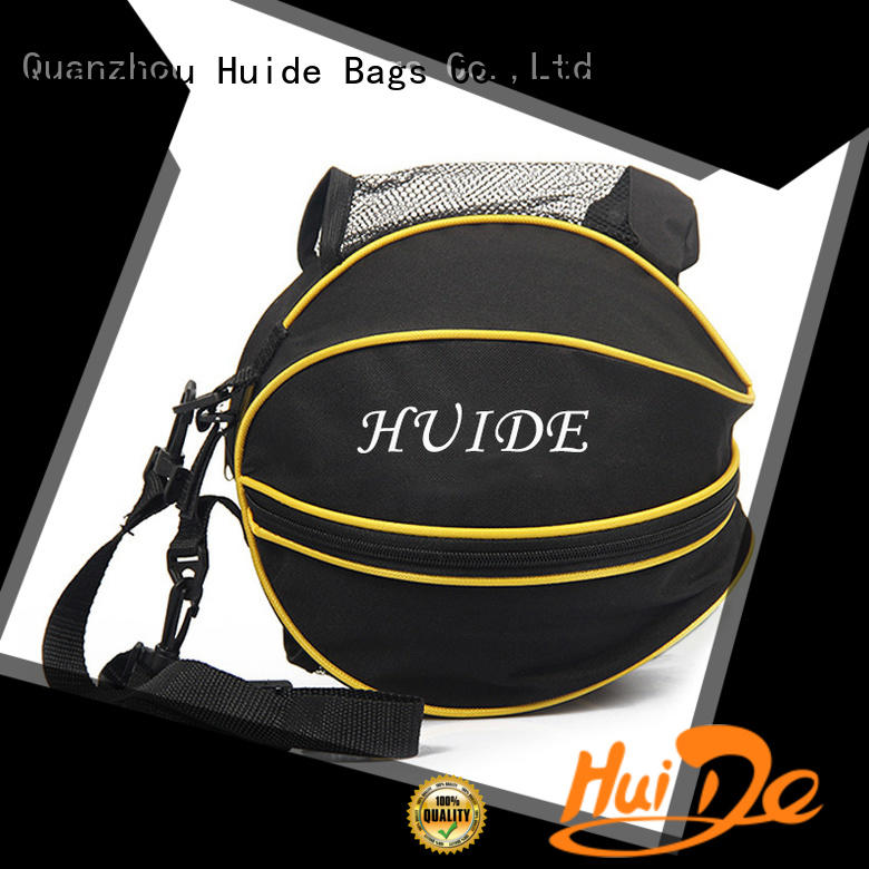 Huide selling basketball bags wholesale promotion price for balls