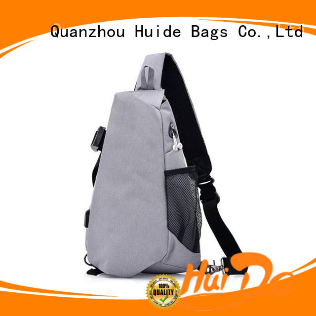 Huide pentagon chest bag pictures for woman