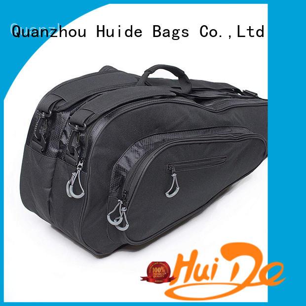 Huide professional customization badminton backpack bag price for women