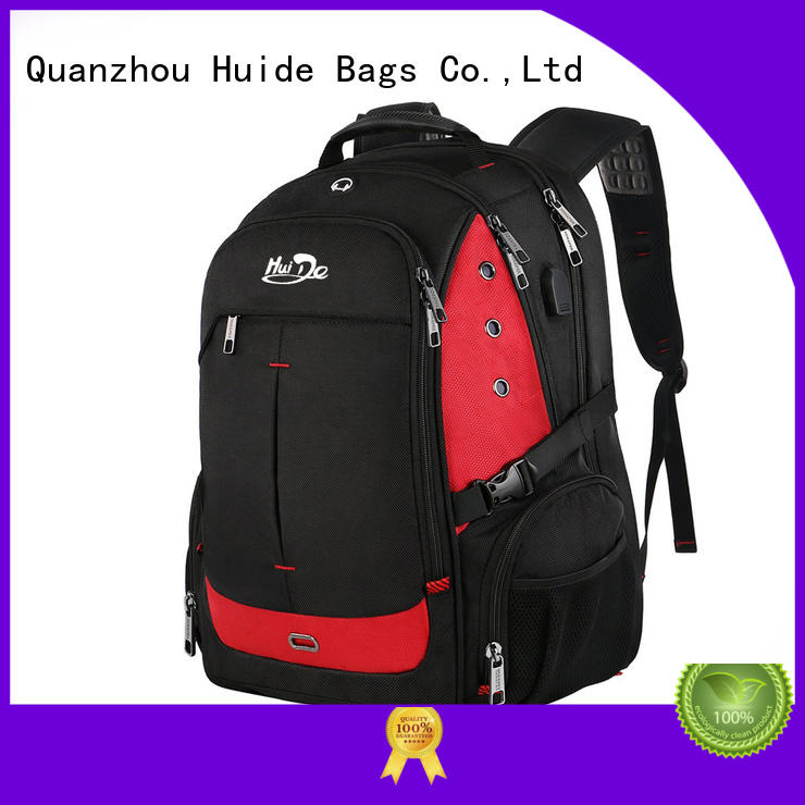 good quality business trip backpack with charge for work