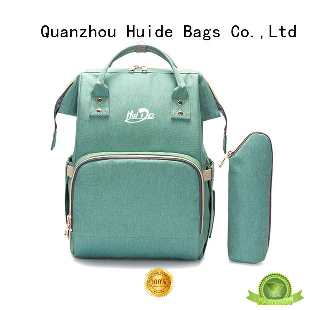 Huide hot sale mommy handbags manufacturers for twins