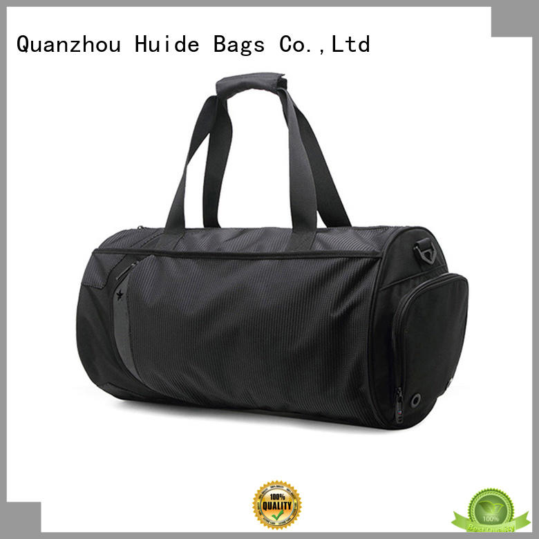 Huide fashionable running gym bag kind for work