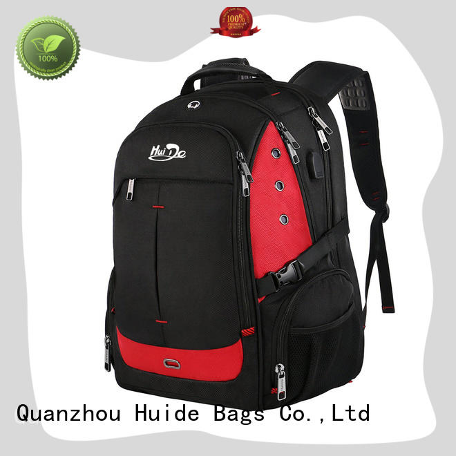 Huide good business backpack with charge for men and women