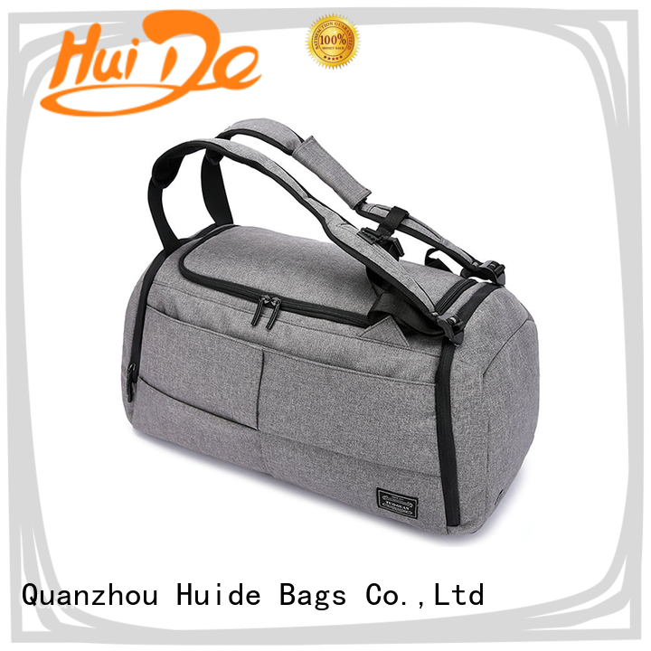 pattern duffel bag with straps suppliers for camping