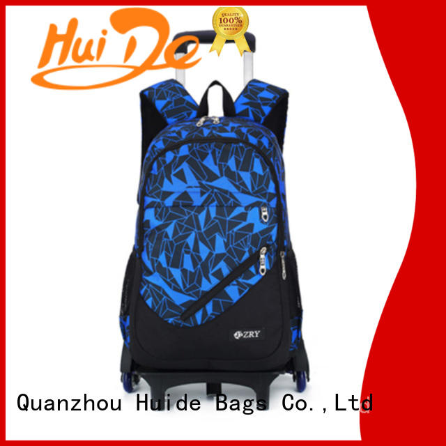 Huide fashion school trolley case wholesale for girl