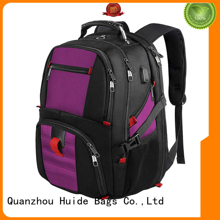 Huide business trip backpack with charge for travel