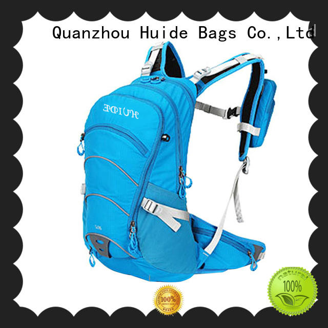 Huide bicycle hydration backpack factory direct sale for cycling