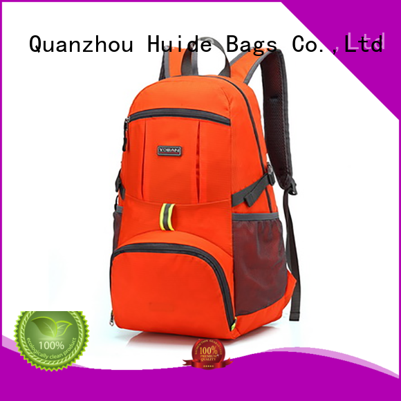 Huide holdall foldable gym bag for travel