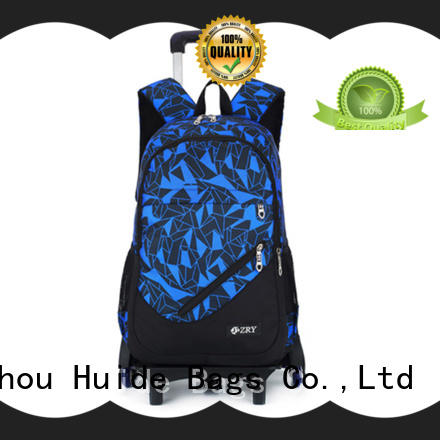 perfect best school bag with wheels wholesale for boy