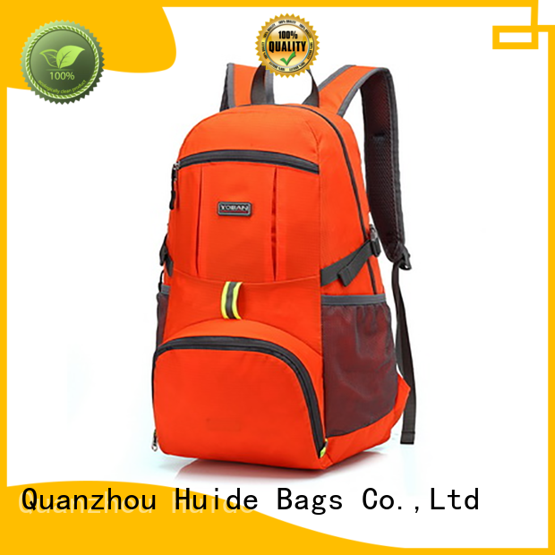 Huide good foldable bag quotation for beach