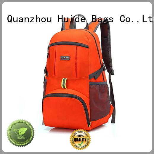 Huide hard folding backpack brands for beach