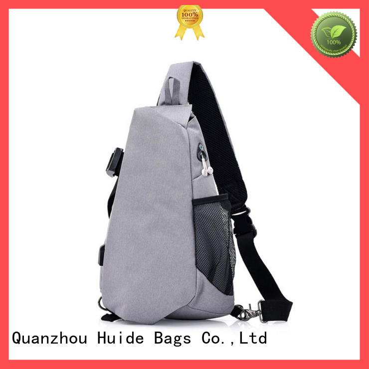 Huide quality running chest bag for man