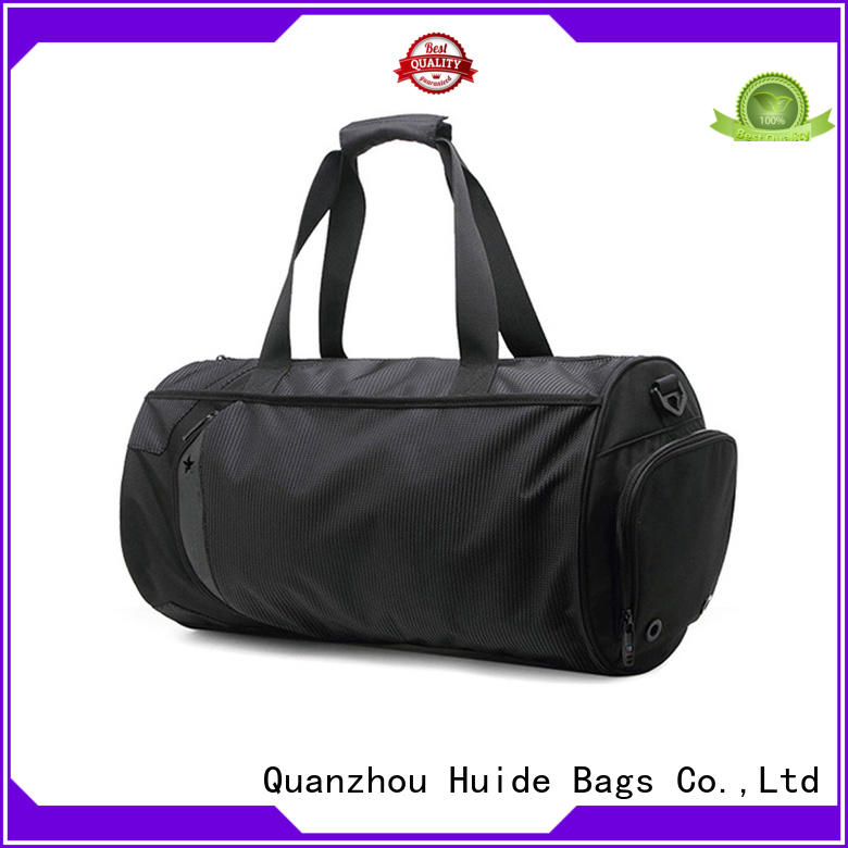 Huide popular best quality gym bags kind for ladies