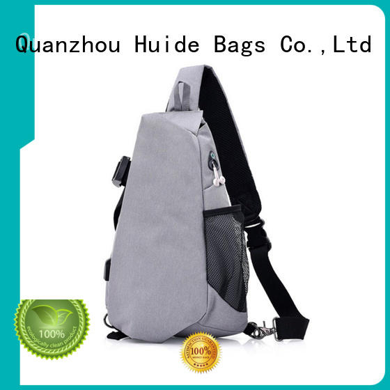 personality cross chest bag pictures for man