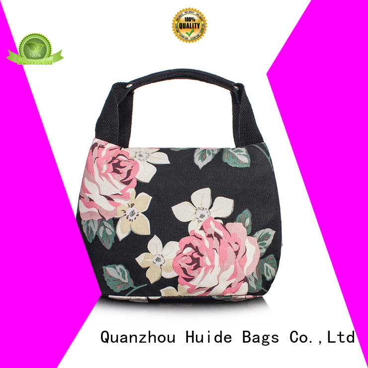 Huide fashionable soft cooler tote bag manufacturers for school