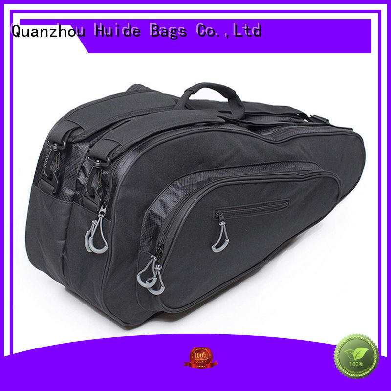 convenient personalized tennis racket bag supply for women