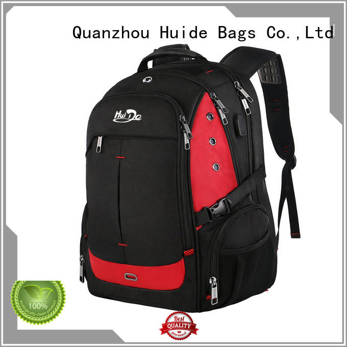 Huide good quality best backpack for business use with charge for travel