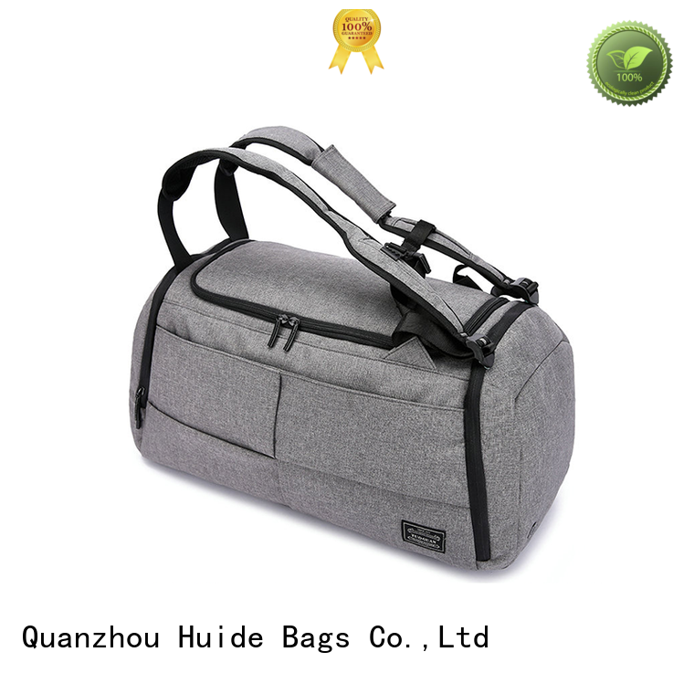 Huide nice duffle bags suppliers for carry on