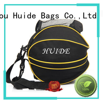 Huide basketball duffel bag wholesale price for sport
