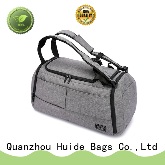Huide good quality quality duffel bags wholesale price for carry on