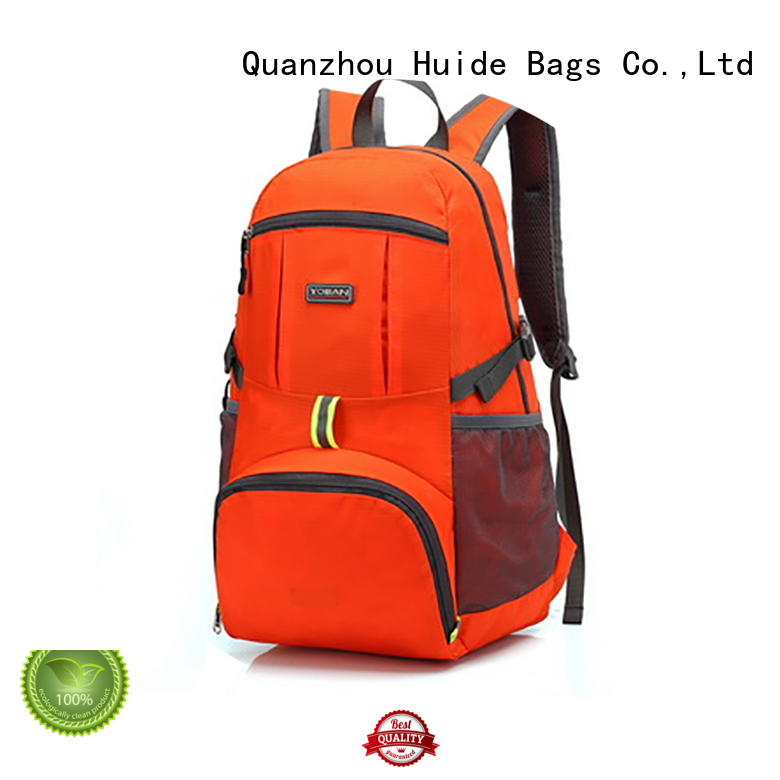 camouflage water backpack & foldable gym bag