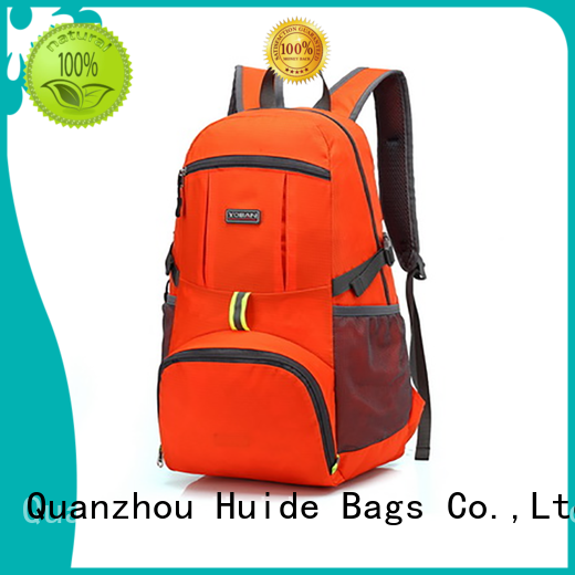 collapsible waterproof foldable bag for shopping