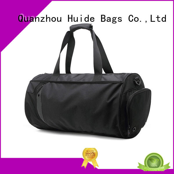 Huide low price simple gym bag kind for international travel
