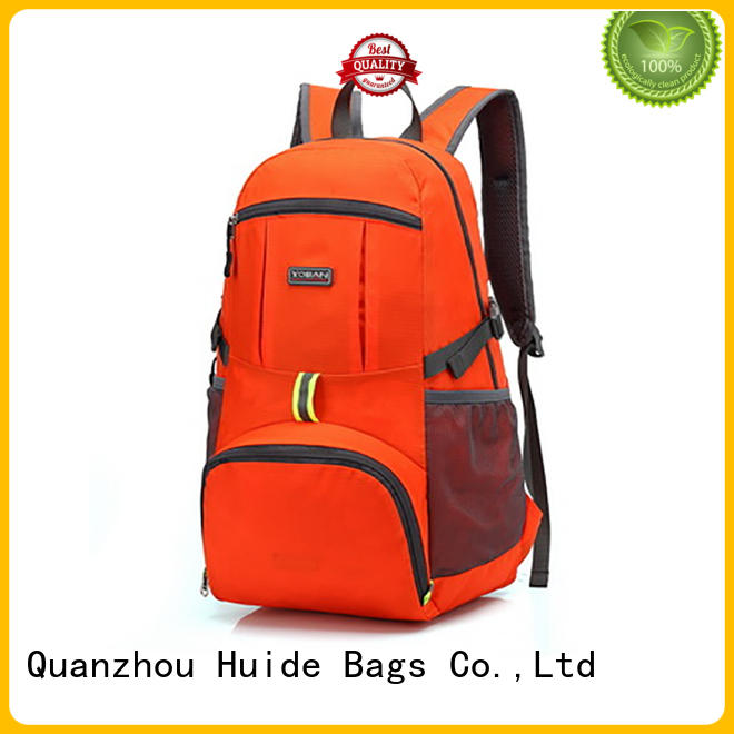 Huide foldable messenger bag quotation for life
