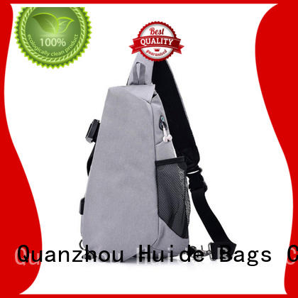 Huide personality chest strap bag pictures for man