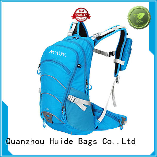 Huide cute water backpack low price for snowboarding