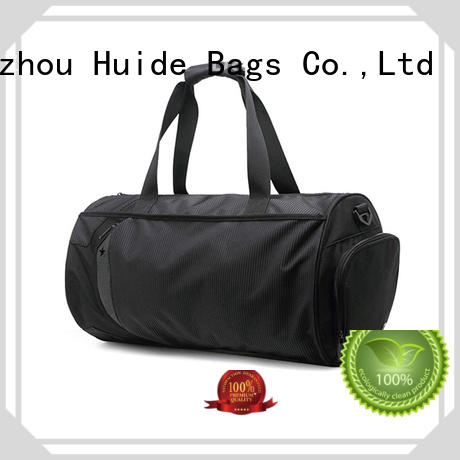 Huide good looking best quality gym bags for girls