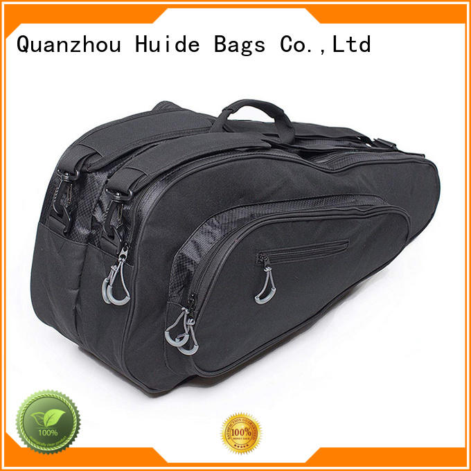 Huide professional customization badminton racket cloth bag product source for men