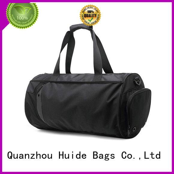 Huide fashionable light gym bag with yoga mat for women