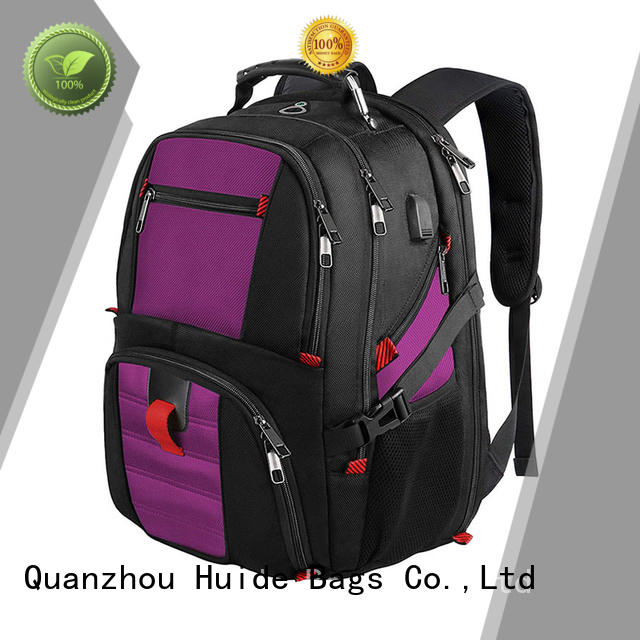 office business trip backpack with shoe compartment for women