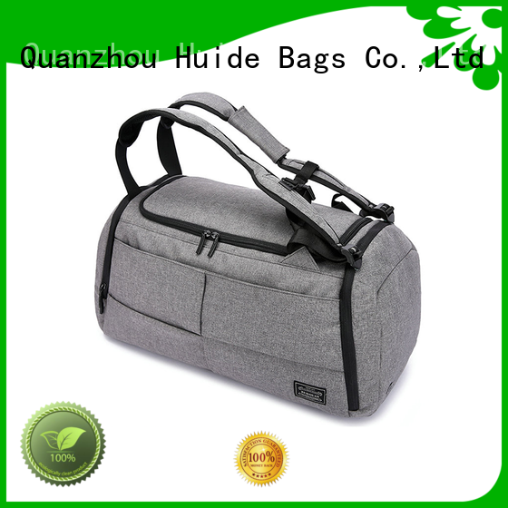 Huide youth duffel bag wholesale price for carry on