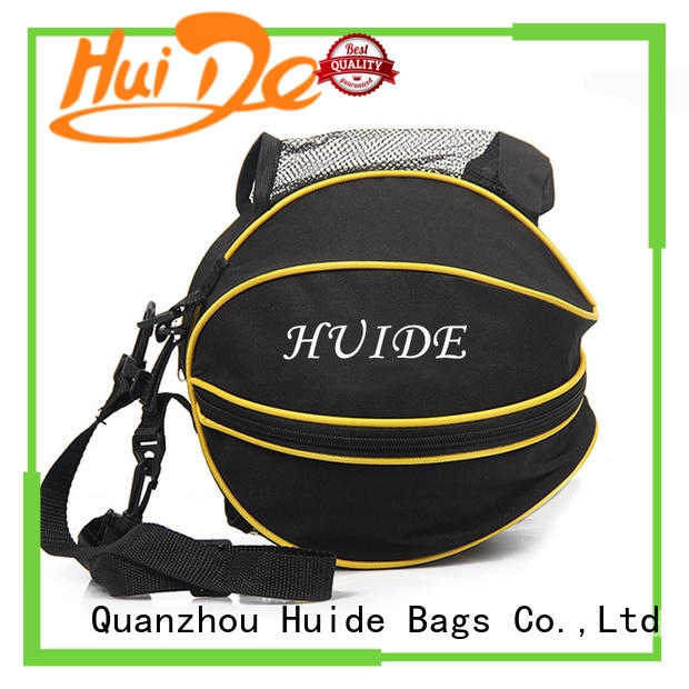 Huide hot sale cool basketball bags promotion price for balls