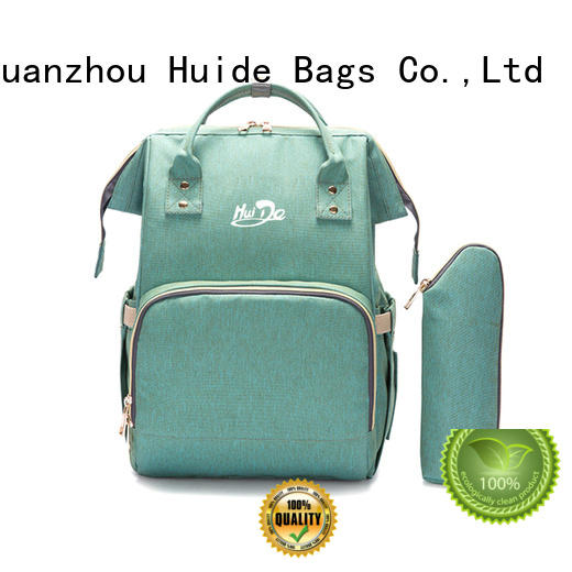 Huide selling mummy diaper bag suppliers for baby boy