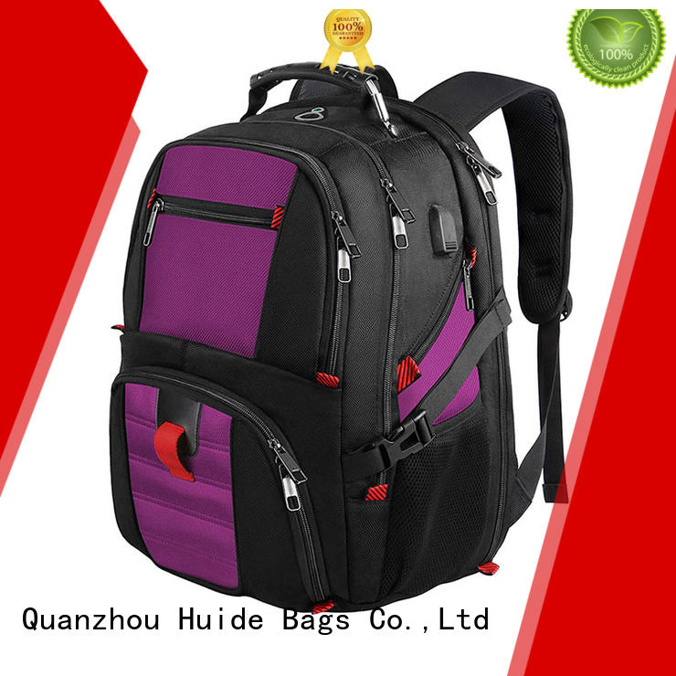 good quality business backpack with shoe compartment for men and women