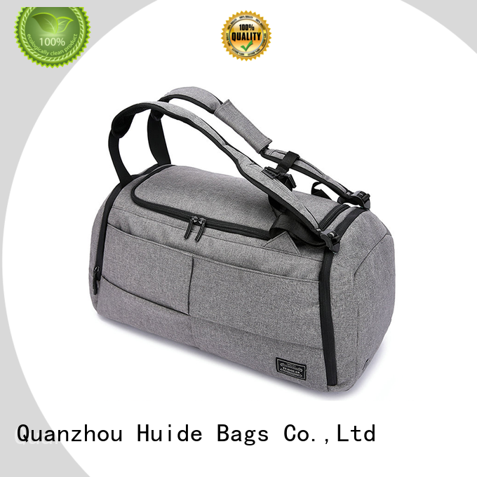 Huide promotion duffel bag and backpack promotion price for camping